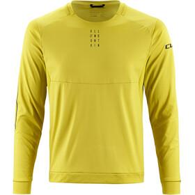 Cube AM Bike Jersey Longsleeve Men yellow